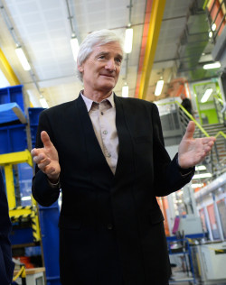 Sir James Dyson, the inventor who founded his technological and manufacturing family business Dyson in 1991.